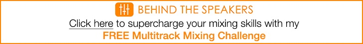 Check out The Multitrack Mixing Challenge from Behind The Speakers!