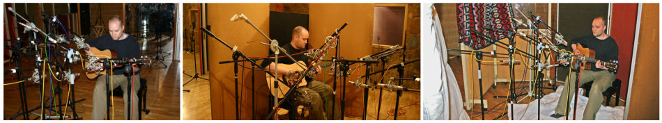 Acoustic guitar multimic setup 1: acoustic environments