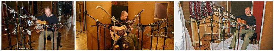 Acoustic guitar multimic setup 1: acoustic environments