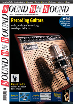 Recording Electric Guitars (Sound On Sound magazine cover feature)