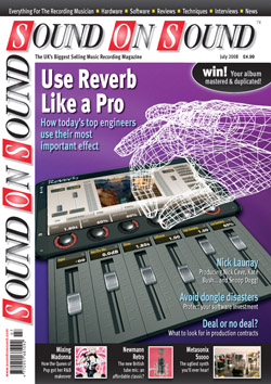 Use Reverb Like A Pro (Sound On Sound magazine cover feature)